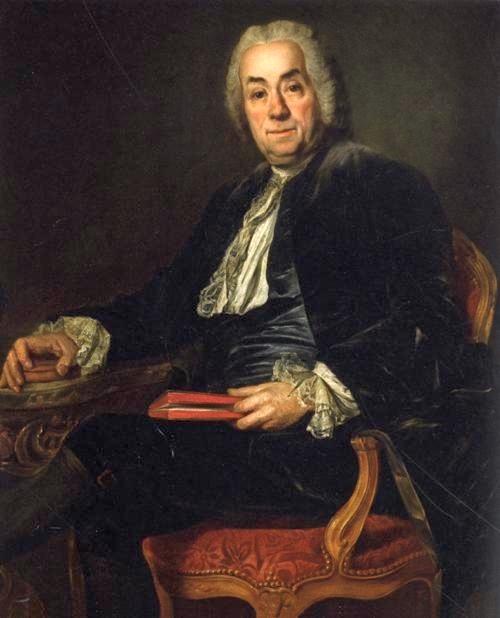 Portrait of Count de Caylus