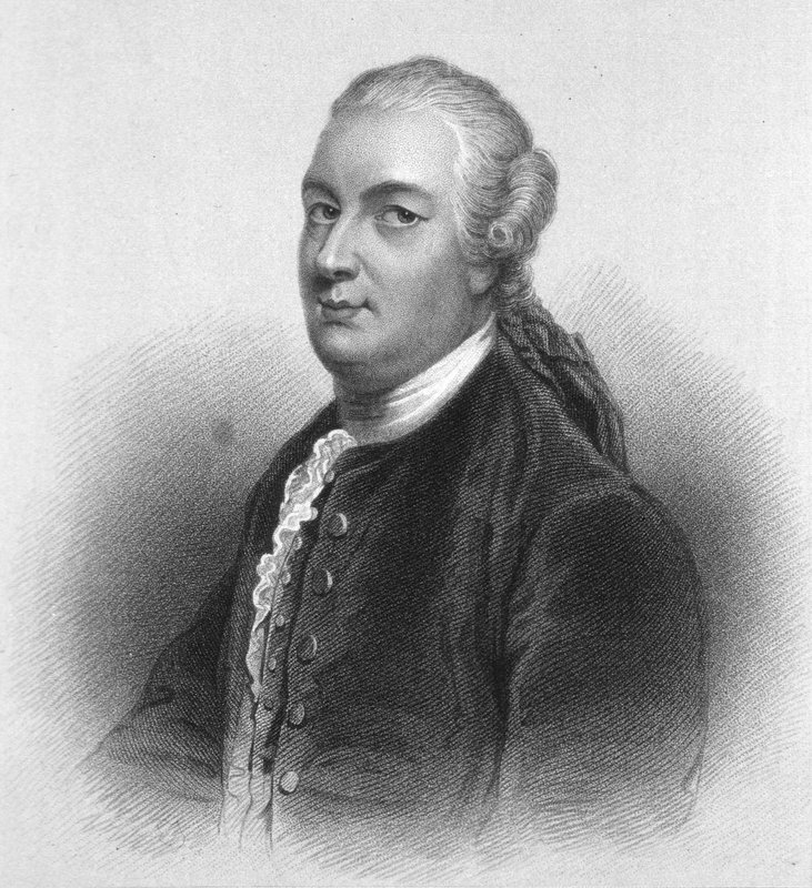 Engraving of James Bruce