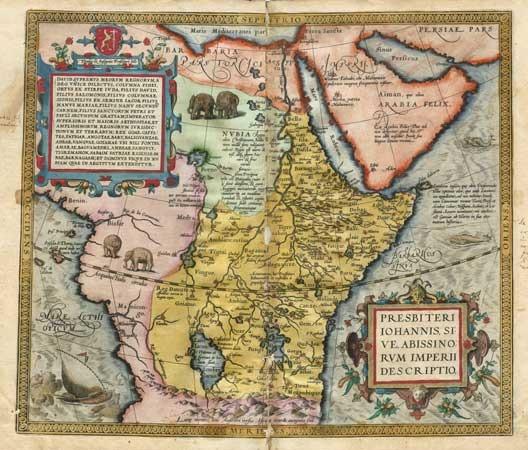 Prester John Map