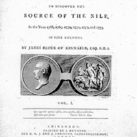James Bruce's Title Page